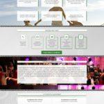 Страница, продающая услуги по оцифровке видео